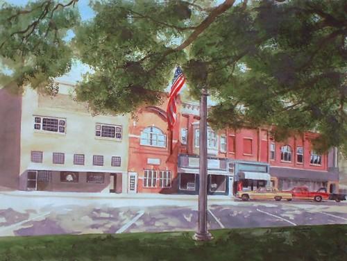 Town Square, Toledo, IL