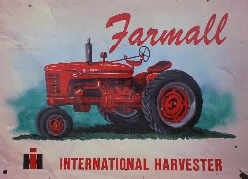 G-Farmall Tin Sign (2)