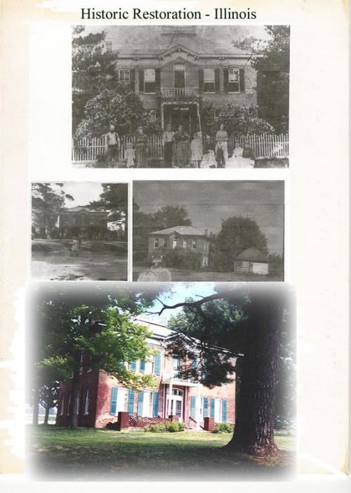 Historic renovation in Illinois